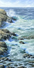 The Sea. 20in x 24in. SOLD